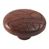 Wooden Engraved Knob 421TK