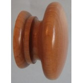 Knob style A 44mm cherry lacquered wooden knob
