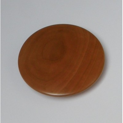 Dot cherry wooden lacquered knob 130mm