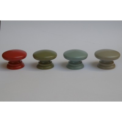 Farrow and Ball Coloured Wooden Knobs
