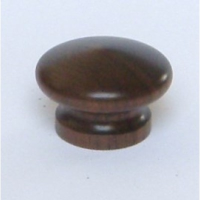 Knob style I 36mm walnut lacquered wooden knob
