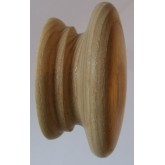 Knob style A 70mm ash sanded wooden knob