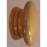 Knob style A 70mm beech lacquered wooden knob