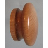 Knob style I 48mm cherry lacquered wooden knob
