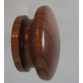 Knob style I 48mm walnut lacquered wooden knob