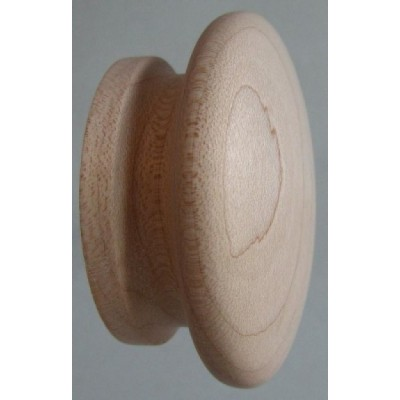 Knob style I 60mm maple sanded wooden knob