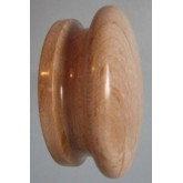 Knob style I 70mm maple lacquered wooden knob