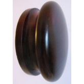 Knob style I 70mm red mahogany stain wooden knob
