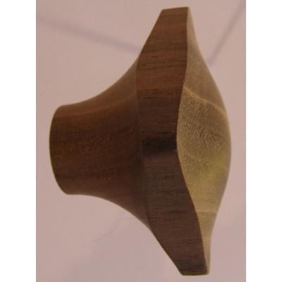 Knob style N 35mm walnut sanded knob