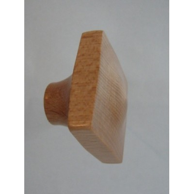 Knob style N 45mm beech lacquered wooden knob