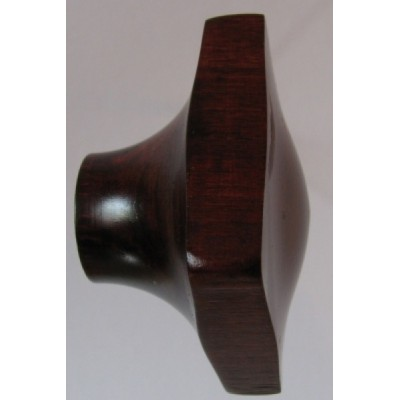 Knob style N 45mm cherry red mahogany stain wooden knob
