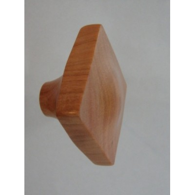 Knob style N 45mm cherry lacquered wooden knob