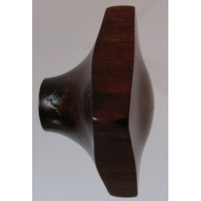 Knob style O 45mm cherry red mahogany stain wooden knob