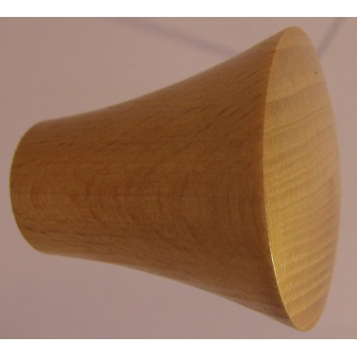 Knob style P 40mm beech lacquered knob