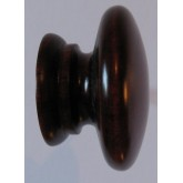 Knob style A 48mm cherry red mahogany stain wooden knob