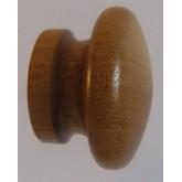 Knob style I 30mm iroko lacquered wooden knob