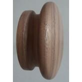 Knob style I 55mm walnut sanded wooden knob